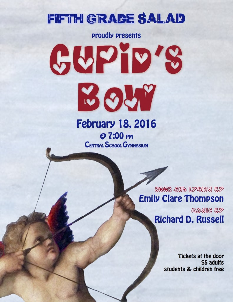 Cupid's Bow Flier 2016